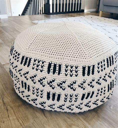 pattern crochet pouf a giant crochet pouf pattern that will add a cozy feel to