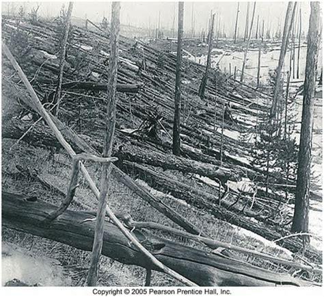 Tunguska Tesla Above Landscape After The Tunguska Explosion 1908 Photo