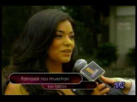 ecuatorianas famosas bellas ecuatorianas youtube