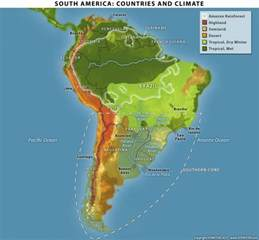 south america countries and climate stratfor