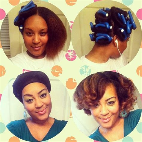 how to salvage flexi rod hairstyles flexi rod blowout on natural hair gives a nice full look