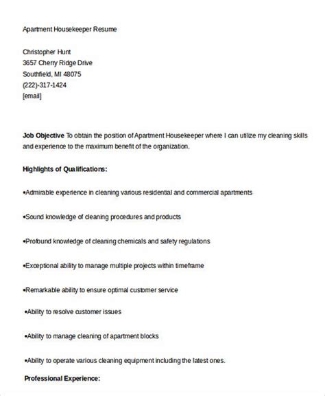 worth writing assistant buyer resume to make you get the what you to when writing your housekeeper resume