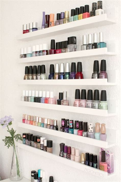ikea nails ikea ribba shelves for bail polish i would need another