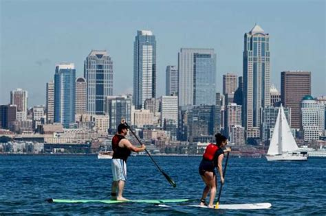 boarding seattle heat seattle temperatures expected to hit 90s seattlepi