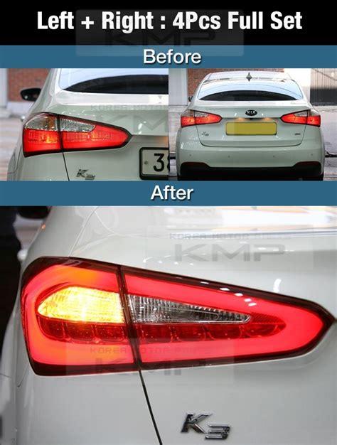 kia forte brake light oem parts surface emission trunk led tail l 4pcs for