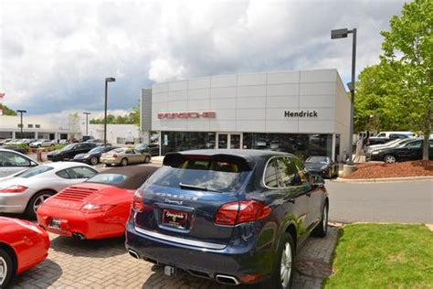 hendrick porsche service hendrick porsche car dealership in nc 28227