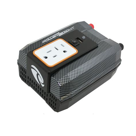 power bridge 12v dc to ac 400 watt power inverter the