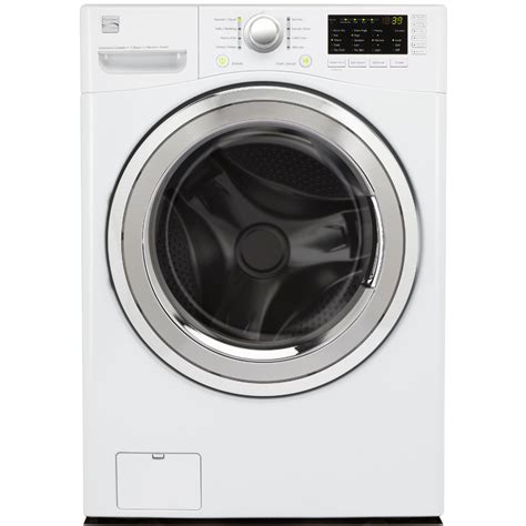 kenmore 4 0 cu ft front load washer w steam white energy appliances washers