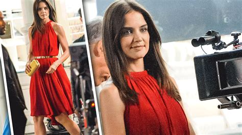 the woman in the olay commercials before or after it doesn t matter katie holmes a