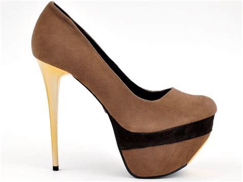 Heels Mocca pl bigslick camoscio mocca high heels shop by fuss