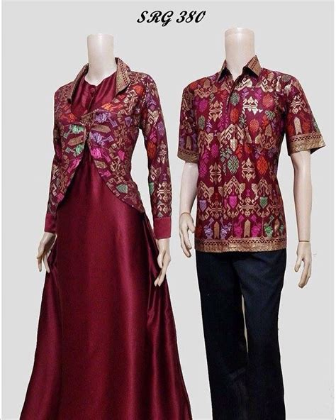 Dres Batik Bisa Coupel model gaun batik holidays oo