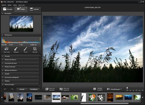 imagenes de editor web avs photo editor edita tus fotos aplica efectos y