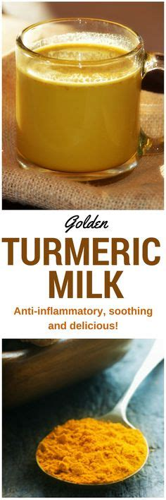 turmeric before bed turmeric milk turmeric and milk on pinterest