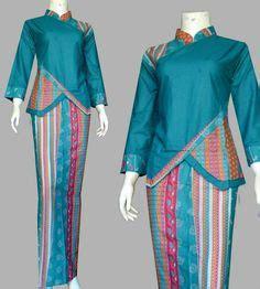 Setelan Baju Muslim Af Collection baju kurung moden lace minimalis baju raya 2016 fesyen