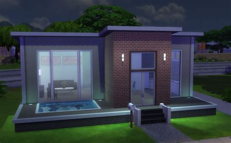 Decorated Homes Interior modern pool starter for only 167 16 172 the sims forums