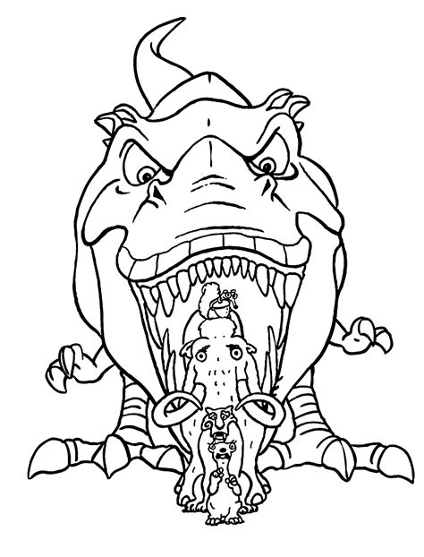 Age Coloring Pages Ice Age Mammoth Coloring Pages Az Coloring Pages