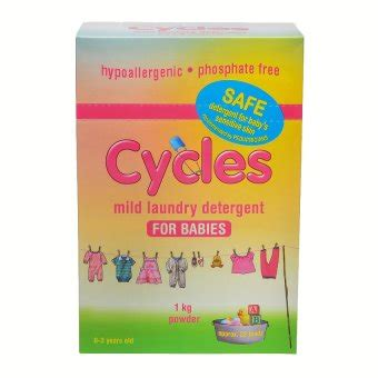 Detergen Cycles Powder 1 Kg cycles mild laundry detergent for babies powder 1kg