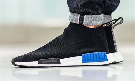 adidas nmd city sock black blue sock style shoes adidas originals nmd city sock arrives in must black colorway highsnobiety