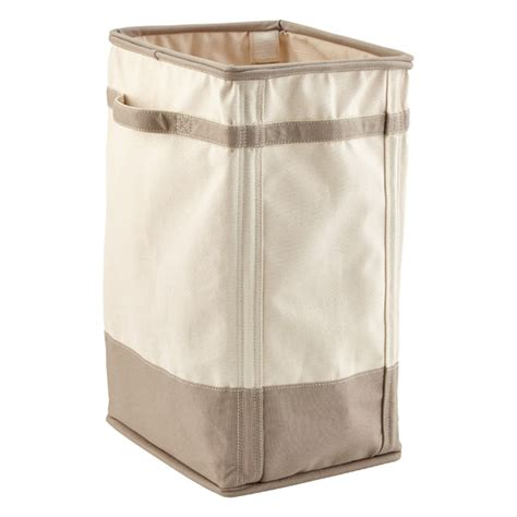 canvas laundry grey canvas laundry her the container store