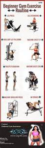 machine based workout routine best 25 beginner workouts ideas on