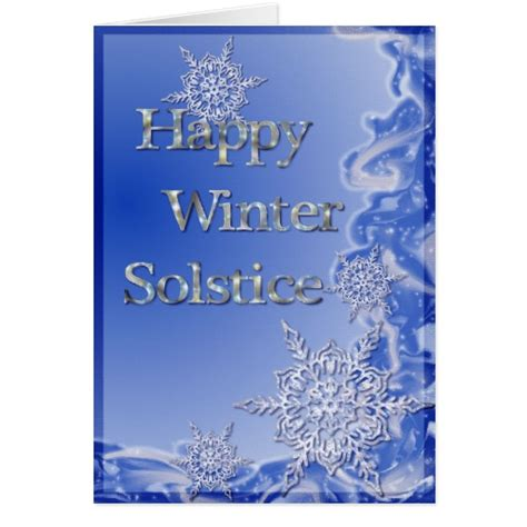 Winter Solstice Greeting Card Templates by Happy Winter Solstice Card Zazzle