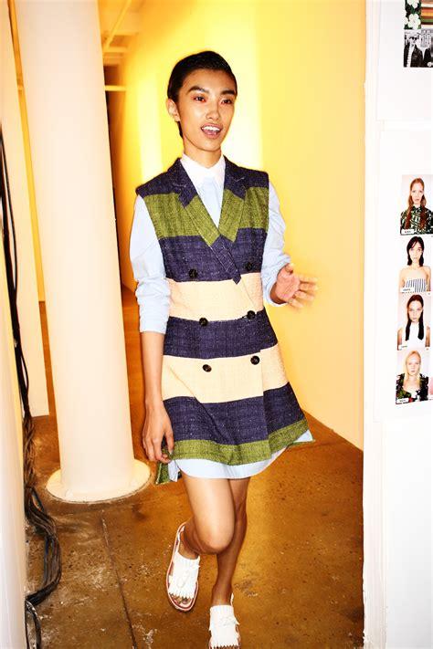 Runway Backstage At Som by Sonny Vandevelde Som Ss15 Fashion Show New York