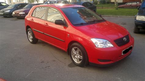 Toyota Corolla Hatchback 2003 Toyota Corolla Hatchback E12 Pictures