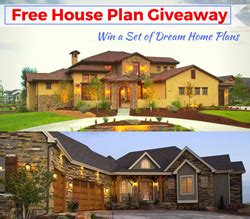 Free House Sweepstakes - the plan collection announces free house plan giveaway