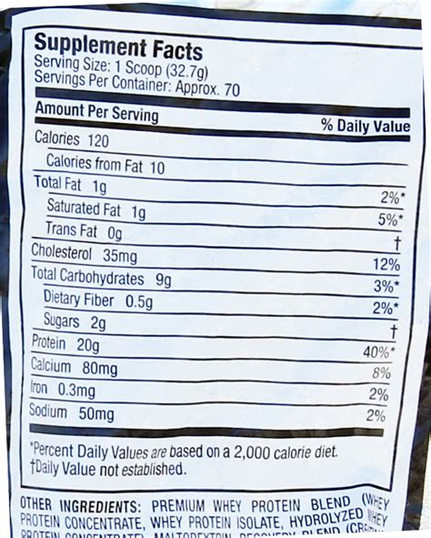 protinex nutrition facts muscletech whey protein isolate nutrition facts