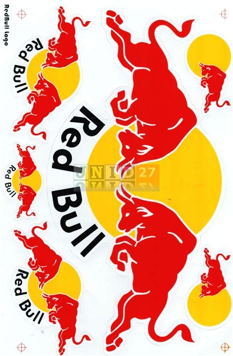 Stickers Red Bull Free by Buy Red Bull Stickers Decal Jnid27 Shop