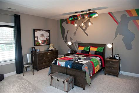sports murals for bedrooms 25 cool kids bedrooms that charm with gorgeous gray