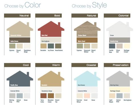 73 best images about color combinations on pinterest awesome vinyl siding color ideas coloration pinterest