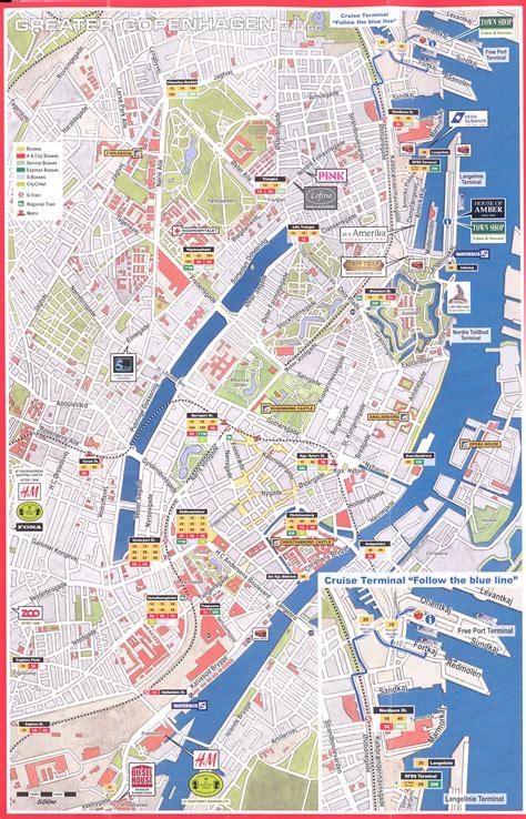 copenhagen map copenhagen map images