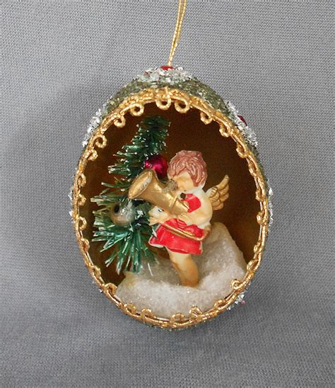 vintage diorama egg ornaments at cool stuff for sale vintage collectibles