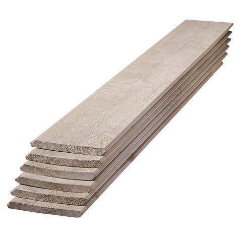 1 in x 8 in x 6 ft premium primed gray spruce shiplap