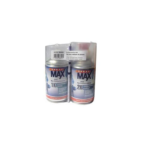 Scheinwerfer Polieren Klarlack by Spraymax Scheinwerfer Reparatur Set 250 Ml 1k Primer