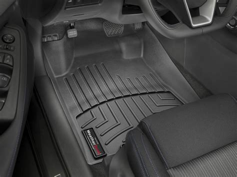 weathertech floor mats floorliner for nissan maxima 2016 2017 1st row black ebay