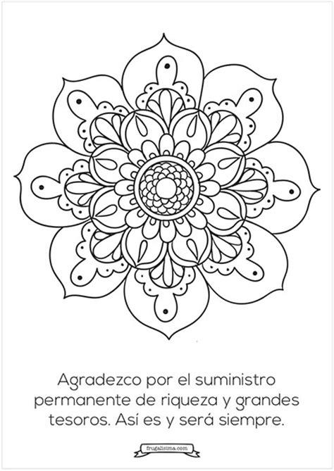imagenes bonitas para colorear con frases 11 mandalas para pintar con afirmaciones poderosas