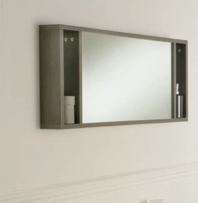 Bathroom Mirror Shelves Oviedo 900mm Mirror With Shelves Modern Bathroom Mirrors