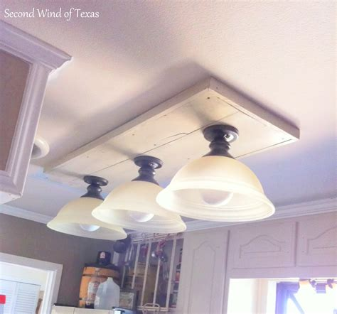 replacing fluorescent light in kitchen second wind of texas making lights to replace ugly