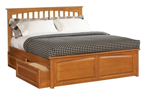 brooklyn bed brooklyn platform bed raised panel footboard