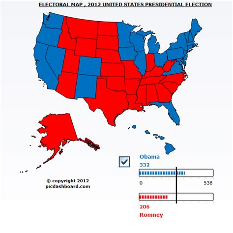 united states political party map 2012 2012 presidential election results and analysis
