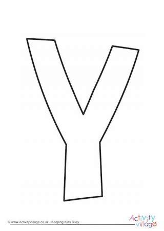 printable y template algeria font alphabet banner letters cotton candy alphabet