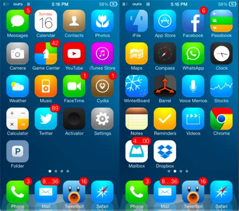 hot jailbreak themes the 12 best ios 7 themes for iphone