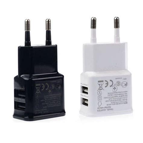 Travel Charger Xiaomi 2 1 Ere 2usb 1 Kabel Lu New wall charger adapter phone usb charger travel 5v 2a eu for xiaomi redmi note 4 3 mi6 mi5