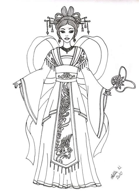 chinese instruments coloring pages 133 best coloring pages oriential images on pinterest