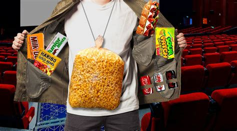 into the food 17 moviegoers who are pros at sneaking food into the theater