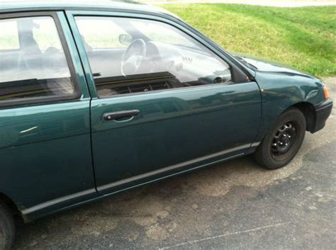 small engine service manuals 1992 toyota tercel security system purchase used 1992 toyota tercel 4cyl 1 5 manual trans 2wd 196000mi needs work good body in