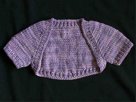 shrug knitting pattern seamless baby shrug by kathok knitting pattern