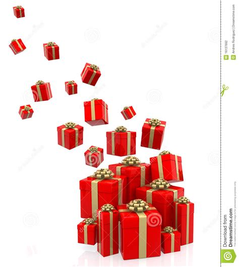 what is d best gift to gift d husband on anniversary 3d gifts falling stock illustration image of gold 16137692